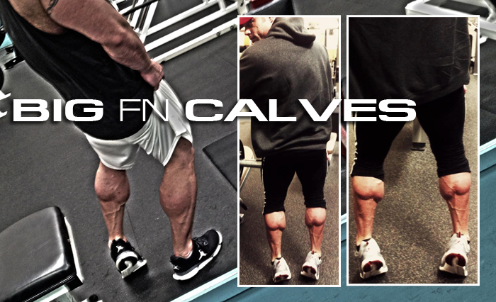 BIG FN' CALVES! | TEAM MVP ATHLETICS TRAINING COMPANY
